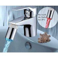 Wholesale New Water Glow Shower LED Faucet Light Temperature Sensor