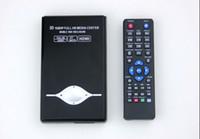 El jugador del sd para la televisión Baratos-3D de 2,5 pulgadas Full HD 1080p HDMI SATA HDD Media Player RM-SD MKV AVI USB Cable W / HDMI