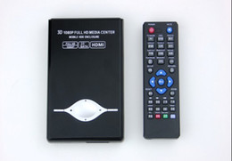 Wholesale 3D inch Full HD p HDMI HDD Media Player SATA RM SD USB MKV AVI W HDMI Cable