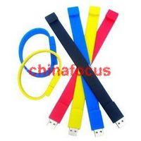 Wholesale Gift U disk USB Flash Bracelet Drives GB GB GB GB Clourfull