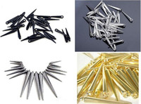 Wholesale Mixed size colors CCP Basketball Wives Earrings Spikes Beads