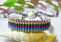 Wholesale Best match Sliver Friendship bracelet woven bracelet
