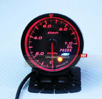 Wholesale Freeshipping the defi cr oil pressure gauge white red type mm gauge