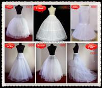 2016 Hot Sale Petticoat Underskirt для невесты Свободный стиль Свободная перевозка груза для выпускного вечера свадебного банкета официальные мероприятия 6 стилей в запасе