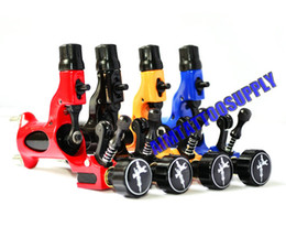 Wholesale 4pcs Dragonfly rotary tattoo machine colours high quality