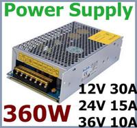 Wholesale by DHL Switching Power Supply W V A V V V optional for CCTV cam