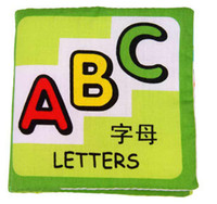 fabric for kids - Cute Handmade ABC Cloth Fabric Books Book for Children Kids Toy New