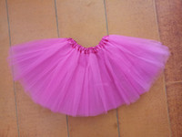 Wholesale girls skirts vein rose pink girl skirt children s tutu dress baby girl short skirts