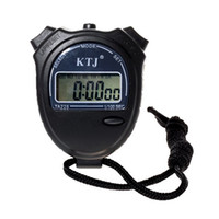 Cheap KTJ TA228 Electronic StopWatch with Time Alarm Date Calendar (1*AG13 Battery Built-in)