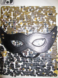 Wholesale Dropship New Arrival Fashion Leather Sexy Black Fantasy Eye Masks High Qualtiy