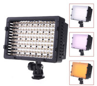 Wholesale CN LED Video Camera Light DV Camcorder Photo Lighting K For Canon Nikon