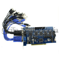 Wholesale High Quality Channel H DVR PCI Video Capture Card Version Software Support Vista GV800C