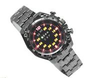 Wholesale luxury TVG Men s StainlessSteel watch LED Sport watch Casual Wrist Watch
