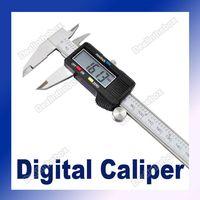 "Cheap 6"" 150mm Hardened Stainless Steel Electronic Digital Caliper Vernier Gauge Micrometer #289"