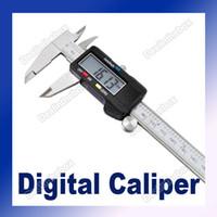 Wholesale 6 quot mm Hardened Stainless Steel Electronic Digital Caliper Vernier Gauge Micrometer