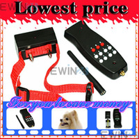 Wholesale 8 LEVEL Electric Shock Remote Control Dog Collar Stop barking New Good Quality Low Price