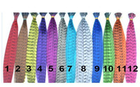 Wholesale 500pcs Party wear Inch Long Synthetic Grizzly Rooster Feather Hair Extension Feathers Extensions