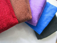 Wholesale 10PCS Microfiber Towel Car Cleaning Cloth Auto Waxing Towels Hair Drying Towel Gift Towel cm