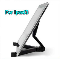 For Apple For Ipad3 A single Portable fold up desk travel tablet stand holder for ipad3 ipad2 tablet pc A-fram 10pcs