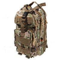 Wholesale Multipurpose Big Size CP Dual Shoulder Military Tactical Backpack for Outdoor