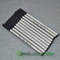 Wholesale 10 standard roller ball pen refills black M POINT new