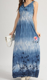 Wholesale 2012 New Summer Women s Bohemian Style V neck Long Beach Dress Maxi Dresses