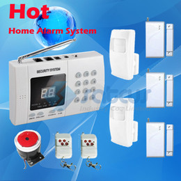 Wholesale Cheap Good Quality Easy Installation Wireless Home Security Burglar Auto Dial Telephone Line Alarm PSTN Home landline Alarm Systems SA