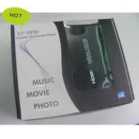 Wholesale Hot P Full Hd Media Player RMVB RM MKV AVI VOB Inch Sata Hdd With Usb Otg Player