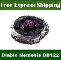 Wholesale New BeyBlade D Nemesis BB122 Metal Fusion Fight Masters With Launcher Kids Toys For