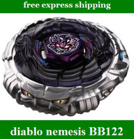 Wholesale New BeyBlade Fusion Masters BB Diablo Nemesis with Light Launcher hot kids toys