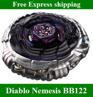 Wholesale HOT now Beyblade Metal Fusion Masters D Diablo Nemesis X D BB top kids toys