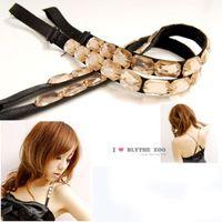 Wholesale Ladies fashion Gem Replaceable BRA ADJUSTABLE BELT SHOULDER STRAP