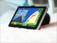 Wholesale Hot Selling Newest Version quot HD Car GPS Navigation AV IN Bluetooth FM Window CE With TF GB D Maps
