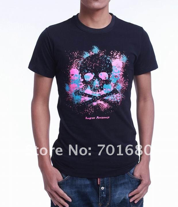Wholesale amk men tshirts men 39 s brand tshirt fashion shirt for Order custom t shirts cheap