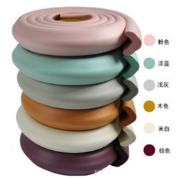 Baby safety products baby 2M Safety Anti-collision rubber baby Crash Section 6 color 15 pcs lot