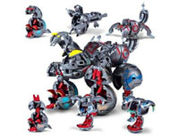 Promotional Toy beautiful warriors - 12 in1 fashion beautiful Ultimate Monster Warrior Trap Dragon Robot Game