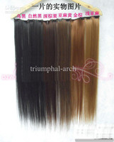 Wholesale Kasi wig piece wig hair long piece of slightly curled wide dual long
