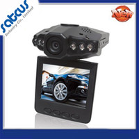 Wholesale HOT Car DVR Vehicle Black Box Security Camera And TFT Colorful Screen LED IR Night Vision