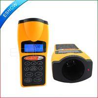 ultrasonic distance meter - Ultrasonic LCD Laser Point Distance Area Volume Measure Measurement Meter Feet Y1003H