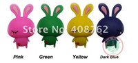 Wholesale LOW PRICE cute cartoon rabit usb flash drive disk pen drive usb disk memory FREESHIPPING