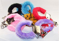 Wholesale FURRY HANDCUFF NOVELTY SEXY LOVE TOY sets