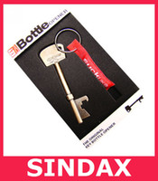 Wholesale UK Bottle Opener Key Ring Key chain Bar Beer Tools Key Shape Bottle Beer Can Opener Portable