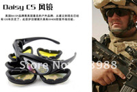 Wholesale Hot G C5 Polycarbonate Tactical Eye Protection Glasses Goggles Daisy riding goggles sports sunglasse