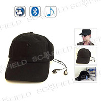 Wholesale Hot Sale MP3 and Bluetooth Spy Cap Camera DVR Hat Camera Remote Control