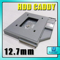 Wholesale 12 mm HDD Hard Drive Caddy UltraBay Slim For Laptop Dell D series New