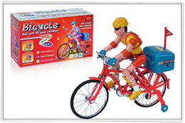 Wholesale bikes electric bicycles electric driven toys with music and lighting model bicycle toy