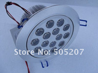 Wholesale cheaper x1W high power LED SpotLight Ceiling light downlight warm or pure white color