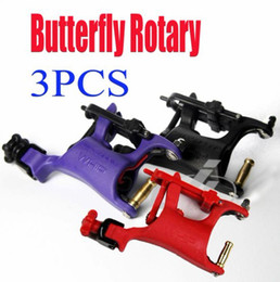 Wholesale Of Butterfly Rotary Tattoo Machines Swashdrive WHIP Tattoo Motor Gun Beauty Kits Supply