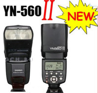 Wholesale Yongnuo Flash Speedlite YN II YN560II LED Video Lights for Canon D D D YN update