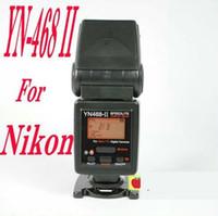 wholesale nikon - YONGNUO YN II YN460 Flash Speedlite for Nikon D7000 D3000 D5100 LED Video Lights YN468II pc